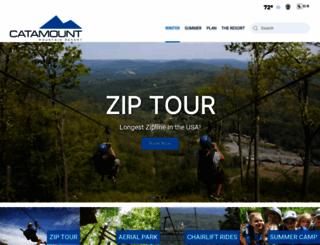 catamountski.com screenshot