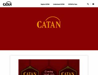 catan.com screenshot