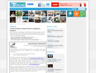 catanduanestribune.com screenshot