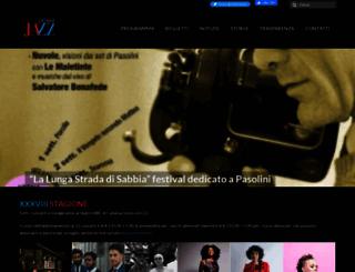 cataniajazz.com screenshot