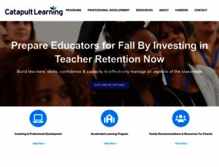 catapultlearning.com screenshot