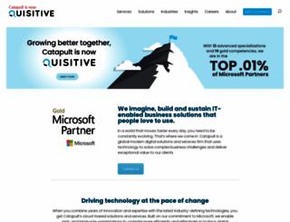 catapultsystems.com screenshot