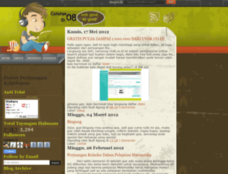 catatan-si08.blogspot.com screenshot