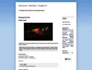 catatanbahasainggris.blogspot.com screenshot