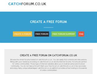 catchforum.co.uk screenshot