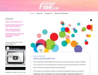 catchmyfame.com screenshot