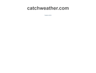 catchweather.com screenshot