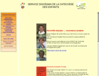 catechese-reims.cef.fr screenshot