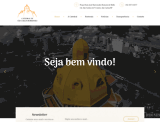 catedralsaocarlos.com.br screenshot