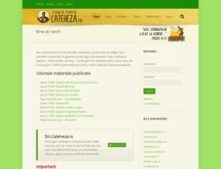 cateheza.ro screenshot