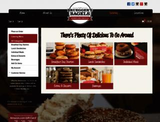 catering.brueggers.com screenshot