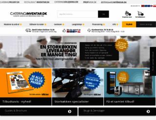 cateringinventar.dk screenshot