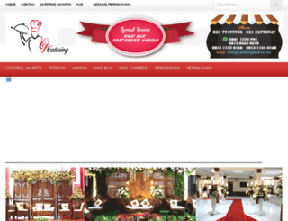 cateringjakarta.net screenshot