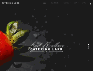 cateringlark.co.za screenshot