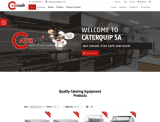cateringsupplierssa.co.za screenshot