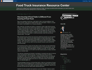 cateringtruckinsurance.blogspot.com screenshot