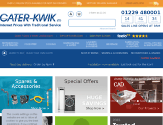 caterkwik.co.uk screenshot