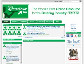 catertown.com screenshot