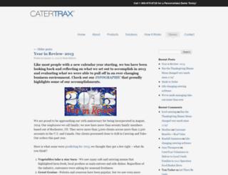 catertraxstories.com screenshot