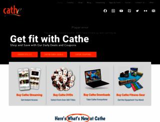 cathe.com screenshot