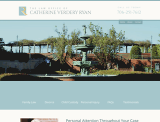 catherineryanlawyer.com screenshot