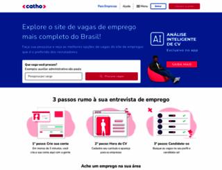catho.com.br screenshot