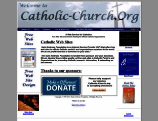 catholic-church.org screenshot