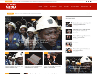 catholic.media screenshot