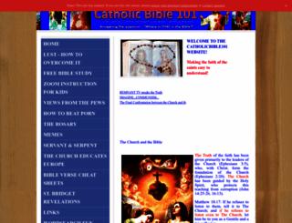 catholicbible101.com screenshot