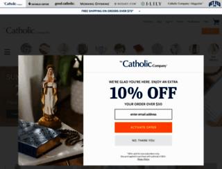 catholiccompany.com screenshot
