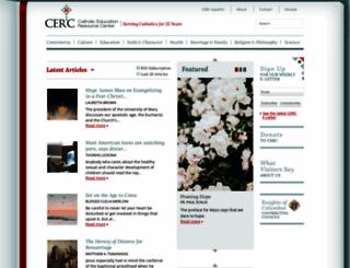 catholiceducation.org screenshot