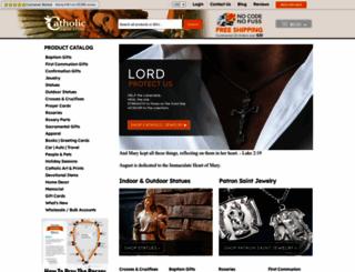 catholicfaithstore.com screenshot