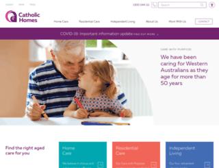 catholichomes.com screenshot