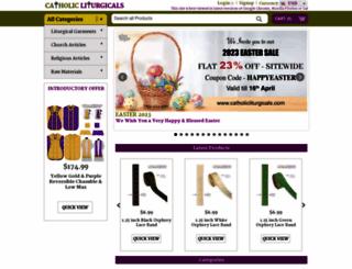 catholicliturgicals.com screenshot