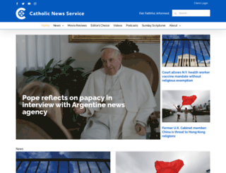 catholicnews.com screenshot