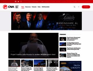 catholicnewsagency.com screenshot