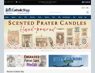 catholicshop.com screenshot