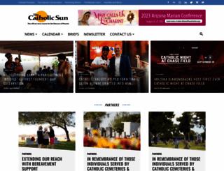 catholicsun.org screenshot