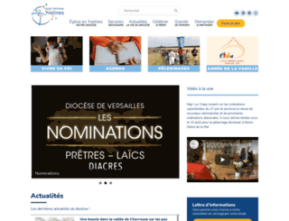 catholique-versailles.cef.fr screenshot