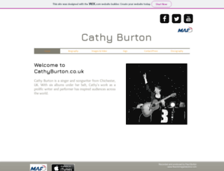 cathyburton.co.uk screenshot