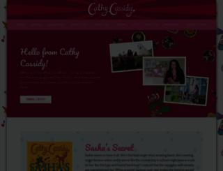 cathycassidy.com screenshot