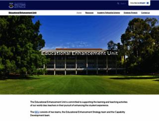 catl.uwa.edu.au screenshot