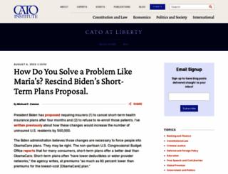 cato-at-liberty.org screenshot