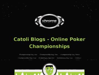 catoliblogs.com screenshot