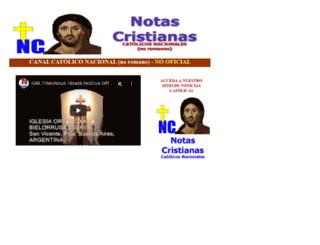 catolicosnacionales.com.ar screenshot