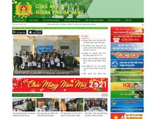 catp.danang.gov.vn screenshot