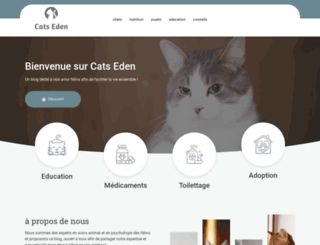 cats-eden.net screenshot