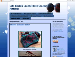 cats-rockin-crochet.blogspot.com screenshot
