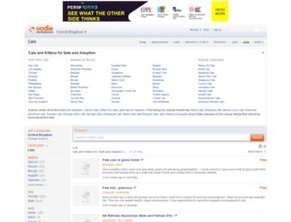 cats.oodle.co.uk screenshot
