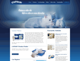 catsan.co.uk screenshot